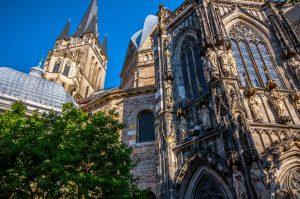 Der Aachener Dom vom Mnsterplatz
